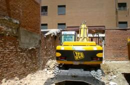 Demolición de edificios en Castilla y León