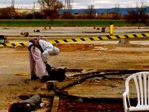 Retirada de amianto en Valladolid
