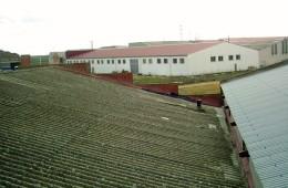 Retirada de amianto, desamiantado, en Valladolid