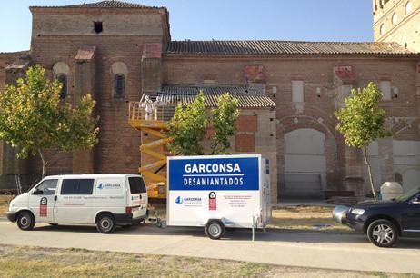 Retirada de uralita en Valladolid